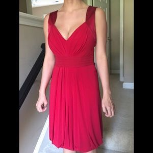 BCBG Red Party Dress